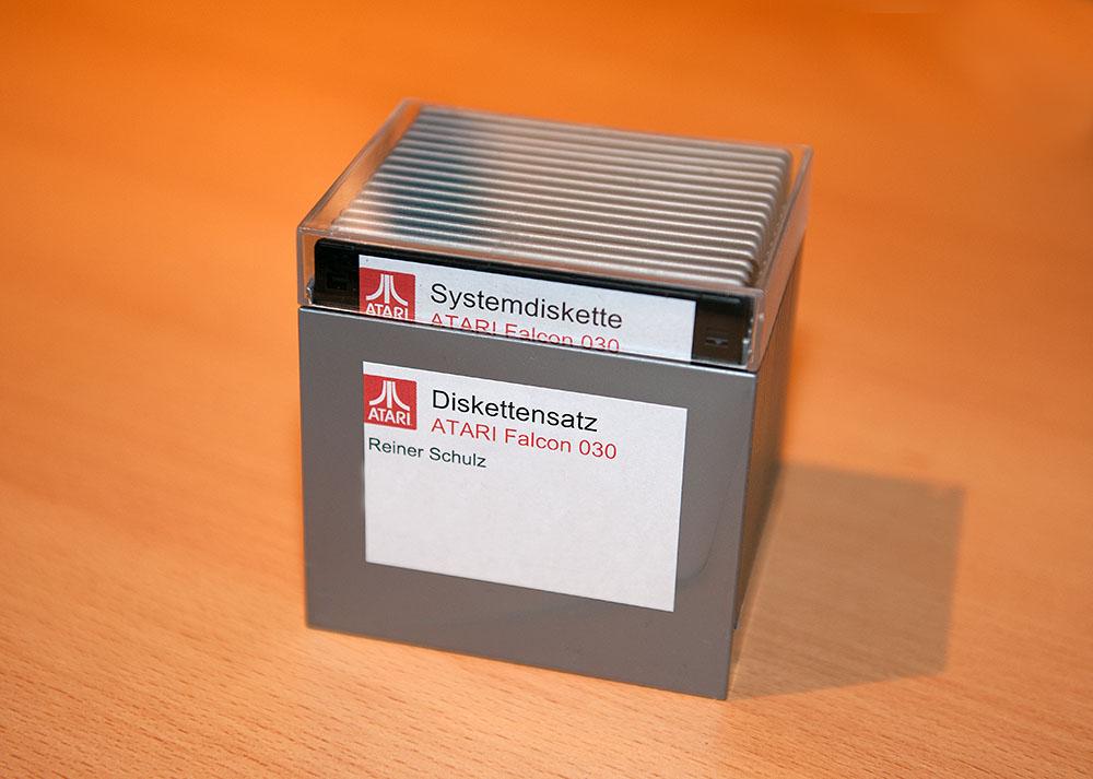 Diskettensatz Falcon